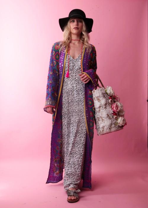 Boho Kimono Suki lila