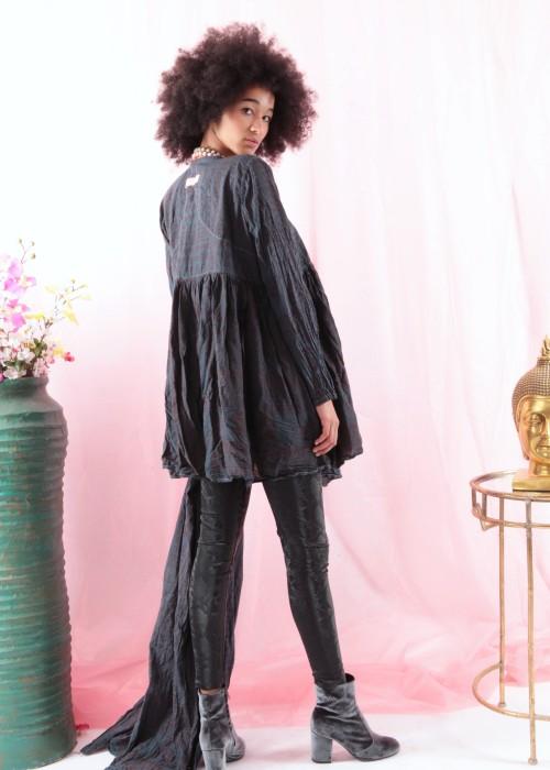 Bohemian Couture Jacke Gebetstuch  indigo