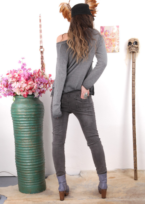 Jeans Destroyed Vintage Stones