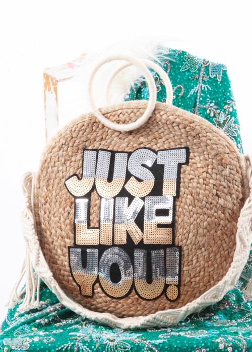 Boho Shopper Tasche Round Just You