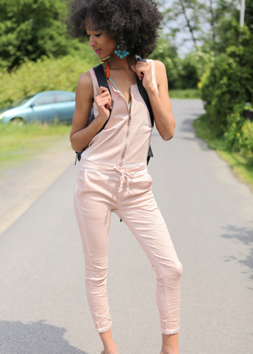 Jumpsuit Skull rose