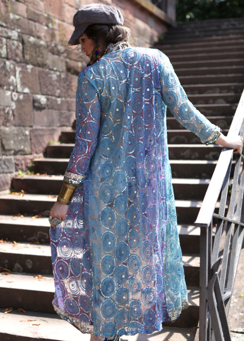 Boho Kimono Chiffon K-11