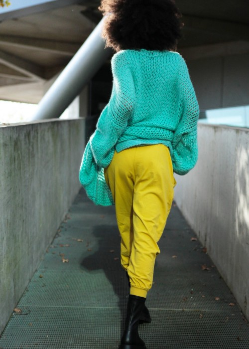 Sweat Pants gelb