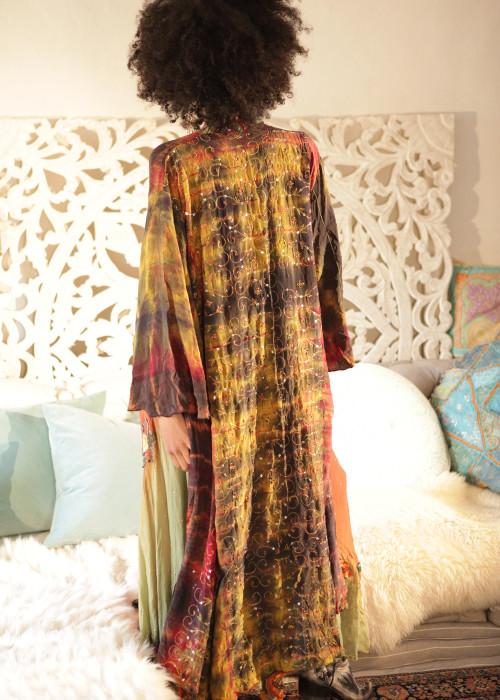 Boho Kimono Seide L