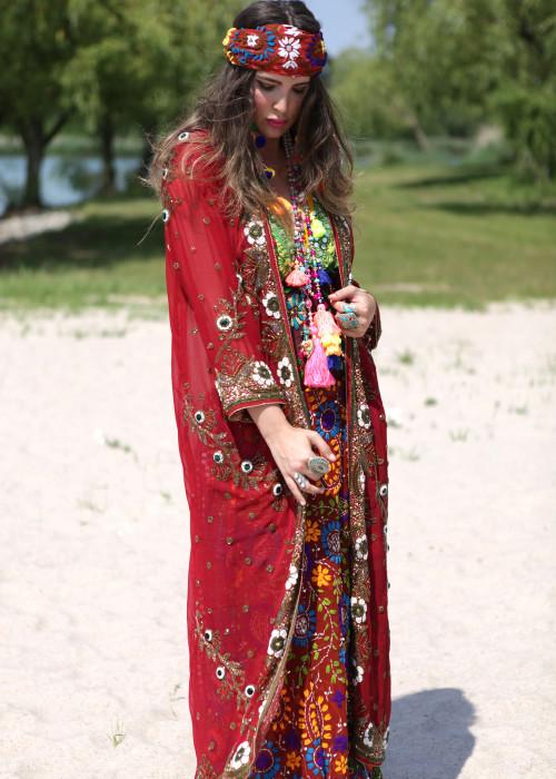 Boho Kimono Chiffon K-9